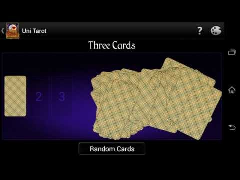 Video of Uni Tarot (8 decks+)