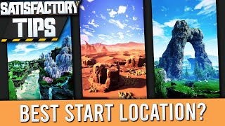 Satisfactory Starting Location Area Guide + Tips! (Update 3)