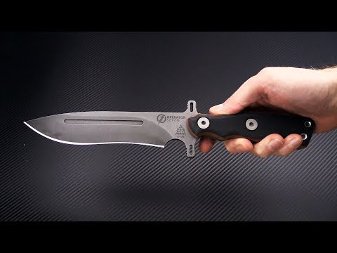 Tops Knives Operator 7 1075 Hcs Tactical Fixed Blade