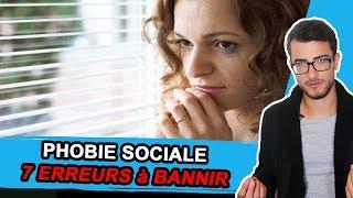 Phobie Sociale : Top 7 des Erreurs Courantes