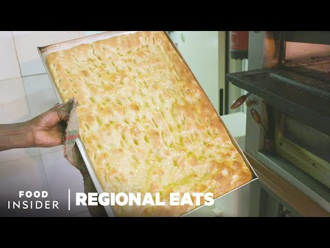 How Italy's Famous Genovese Focaccia Bread is Made