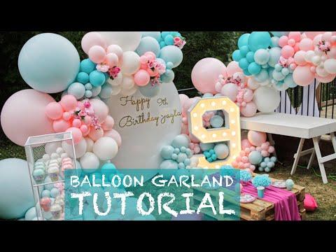 $1750 Outdoor Balloon Garland Set-Up #2
