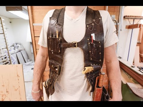 Make Your Own Tool Vest To Custom Fit Your Favourite Hand
