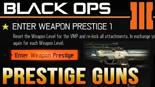 Black Ops 3 How to Prestige your Weapon [Weapon Prestige Info]