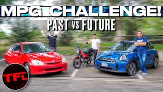 Surprise - Gas Powered Vehicles Are Far From Dead As We Prove in This EV MPG Smackdown!