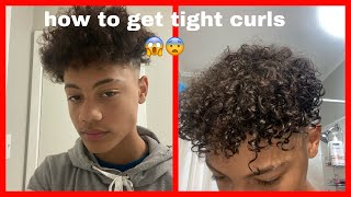 How To Get Loose Curls To Tight Curls