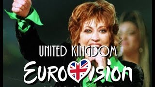 Eurovision Song Contest   United Kingdom (1957 - 2018)   All The Entries