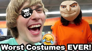 Trying to Find a Halloween Costume.. (FAIL) (FUNNY)