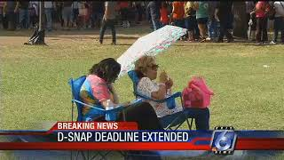 Extra day to apply for D-SNAP added in Nueces County