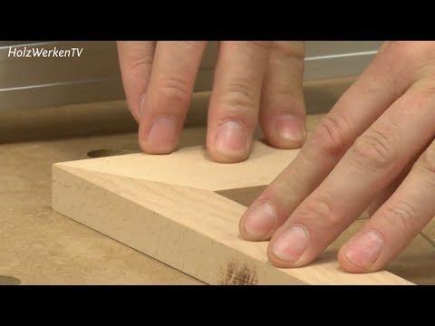 Falsche Gehrungen - und wie Sie sie an der Kreissäge richtig schneiden