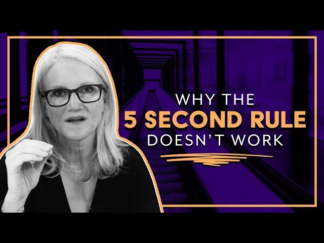 Why The 5 Second Rule doesn't work | Mel Robbins