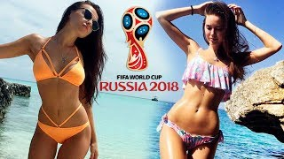 Самые ГОРЯЧИЕ ЖЕНЫ футболистов СБОРНОЙ РОССИИ на ЧМ 2018 (FIFA 2018)