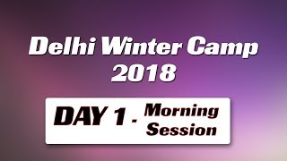Winter camp 2018  Session 1