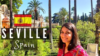 Spain Travel VLOG | Best Places to visit in Seville | FLAMENCO Dance | Seville Cathedral