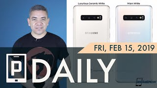 Samsung Galaxy S10 'Luxurious White', Foldable iPhone in 2020?