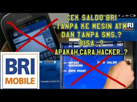 Cara Cek Saldo Bank BRI Tanpa Pergi ke Mesin ATM dan Tanpa Kirim SMS | BRI Mobile Banking