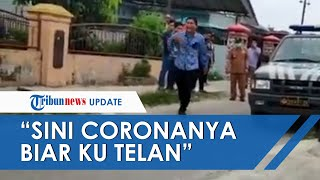Cekcok dengan Polisi, Anggota DPRD Medan: Mana Corona Itu Biar Kutelan