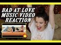 BAD AT LOVE by HALSEY MUSIC VIDEO REACTION