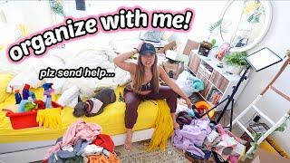 SHOPAHOLIC CLEANS HER ROOM + CLOSET! Ultimate clean with me