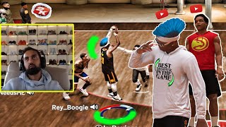 I HIRED RONNIE 2K TO WIN ME GAMES AT THE 5K COURT....w/ agent 00. NBa 2k19 my park