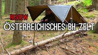 Das Österreichische Bundesheer Zelt, für mich die Beste Alternative zur BW Dackelgarage oder Tarp