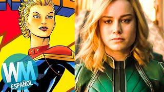 ¡Orígenes de Superhéroes: CAPITANA MARVEL (Carol Danvers)!