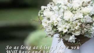 Beautiful In White - Shane Filan (with Lyric)