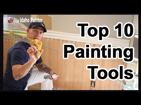 Top 10 Painting Tools Every Painter Needs.