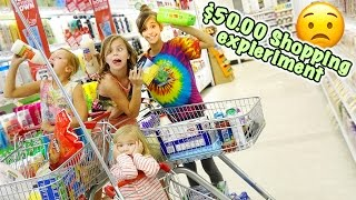 😳 KIDS GO GROCERY SHOPPING AS AN ADULT CHALLENGE 😳 CAN THEY SHOP ON A BUDGET? 😳 SOCIAL EXPERIMENT 😳