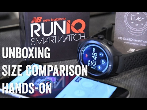 NEW BALANCE RUNIQ! Unboxing, size comparisons, hands-on!