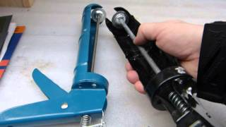Caulking gun wars: Does cheap  = garbage?
