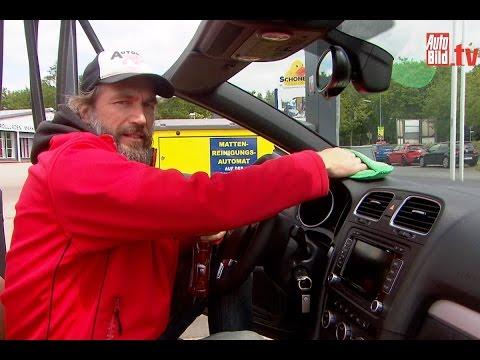 Auto Bild Ratgeber: Tipps für die Innenraumpflege