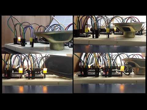 Arduino Multi Channel MIDI Player test (Detective Conan Main