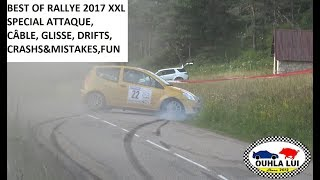 XXL Best of Rallyes Crashs & Mistakes 2017 version longue by Ouhla lui