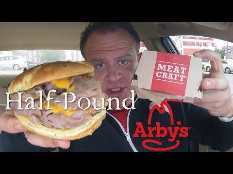 Arby's NEW! ☆HALF POUND BEEF 'N CHEDDAR☆!!!