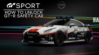 GT SPORT - How to Unlock GT-R Safety Car and Veneno (Free GTR &  Lamborghini Reward)