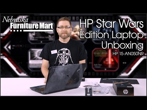 HP Star Wars Special Edition Laptop Unboxing (HP 15-AN050NR)
