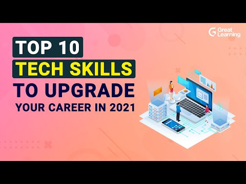 , title : 'Top 10 Tech Skills to Upgrade Your Career in 2021 | Hottest Tech Skills of 2021 | Great Learning