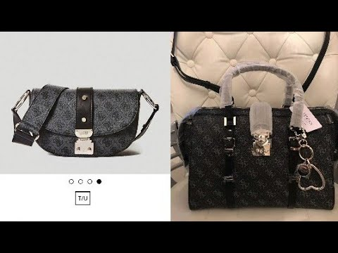 ❓TWO Guess handbag reveals! The Florence Crossbody and the Joslyn Satchel 👜
