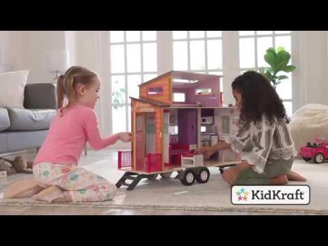 Teeny House Dollhouse Toy demo by KidKraft
