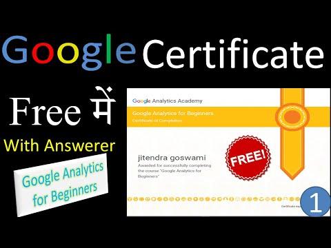 1st-Free Google Certificates   free computer certificate   google ...