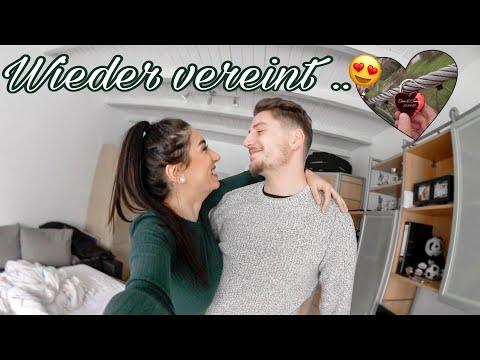 Wiedervereint! 🤞🏻😍 #Vlog Liebesschloss anbringen in Stuttgart! 🔐