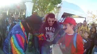 Super Mario Odyssey cosplayer romagnolo personaggio del videogame Nintendo a Lucca Comics 2017