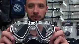 Маска для дайвинга Cressi Sub Air черный силикон от компании МагазинCalipso dive shop - видео