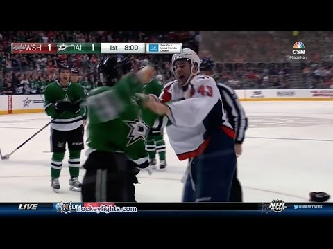 Tom Wilson vs Brett Ritchie
