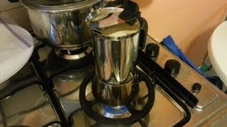 Bialetti Venus Stainless Steel Espresso Maker Review and How-To - Recorded with the Galaxy Note II