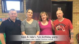 Liam & Jake's birthday Party, Norwich