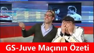Juventus'lu Spikerin Yıkıldığı O An! Galatasaray-Juventus 1-0 Wesley Sneijder.