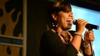"""Eunice Wright singing """"Hello God!"""" Live at the Independent Gospel Artist Alliance 2013"""
