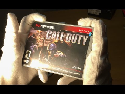 NOKIA N-GAGE CALL OF DUTY... (WORST EVER) Unboxing & Gameplay